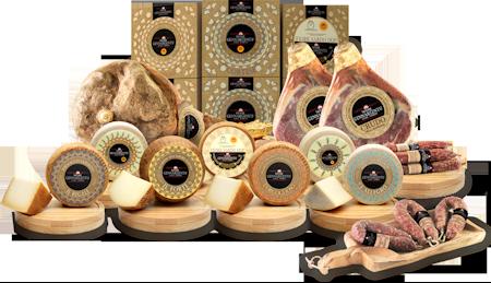 Salumi e formaggi della Barbagia